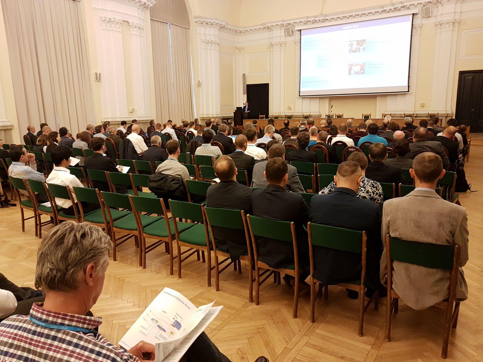 Rettore convegno EMPC Varsavia